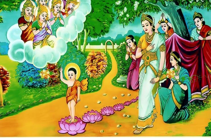 Hé lộ 8 nhân duyên đặc biệt hội tụ để Đức Phật đản sinh
