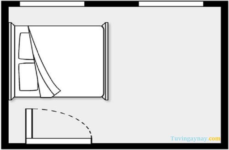3 mẫu phòng ngủ phạm kỵ phong thủy bạn tuyệt đối phải tránh