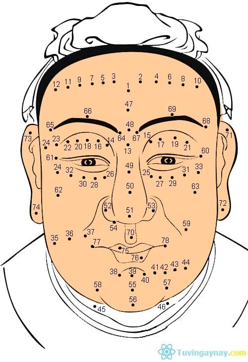 Xem bói nốt ruồi trên mặt đàn ông và phụ nữ theo từng vị trí cụ thể